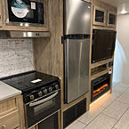 Standard Stainless Steel Appliance Package w/ Residential Refrigerator Option