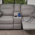 Wall hugger reclining theater seats (Optional)